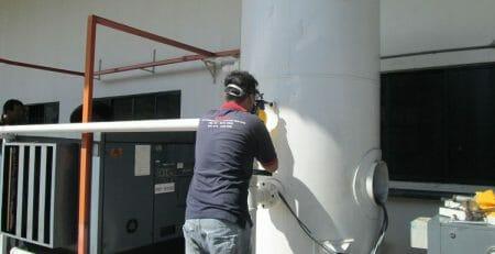 Quy tắc an toàn khi làm việc với bình chứa khí nén