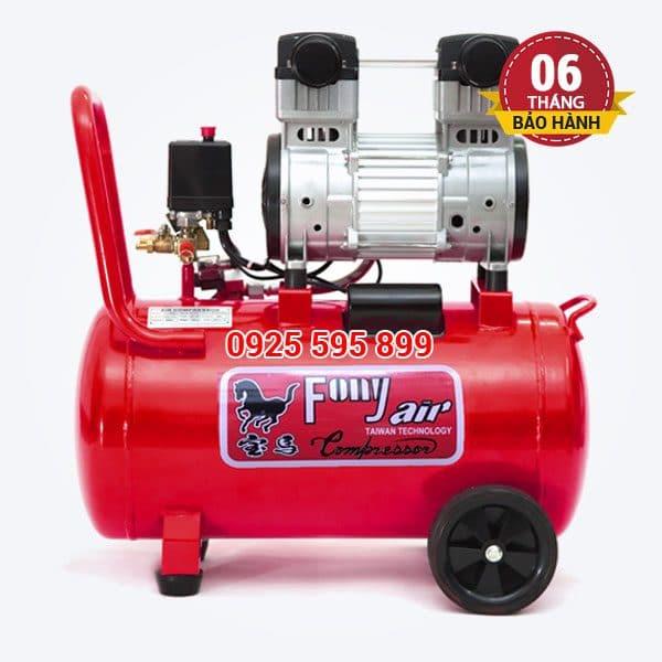 Máy nén khí không dầu giảm âm Pony FN-750 (30 lít)
