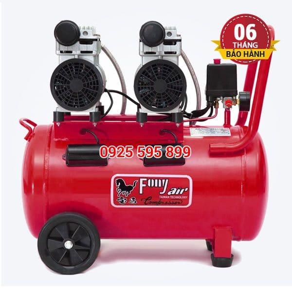 Máy nén khí không dầu giảm âm Pony FN-850 (50 lít)